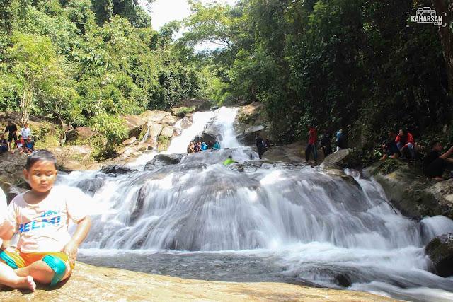 Tingkat 2 Air Terjun Tengai' Wisata Kec Nanga Mahap Kab Sekadau - kaharsan