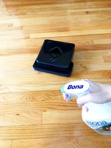 Bona Free and Simple, Clean with Kids, Kid Chores, Roomba Bona