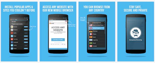 How to surf on any websites that are being blocked in your country using smartphone or tablet?