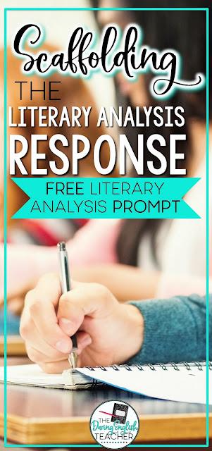 Scaffolding the Literary Analysis Response