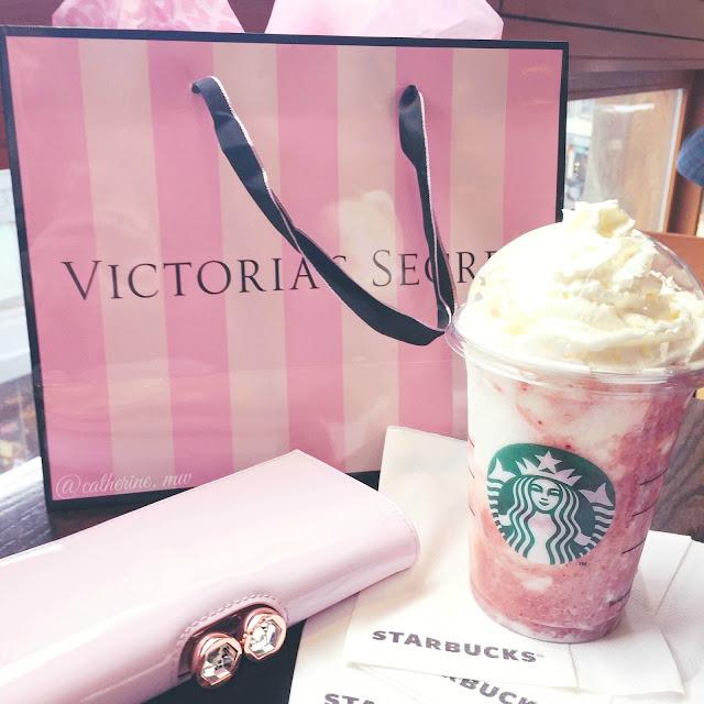 Starbucks Strawberry & Cream Frappucino