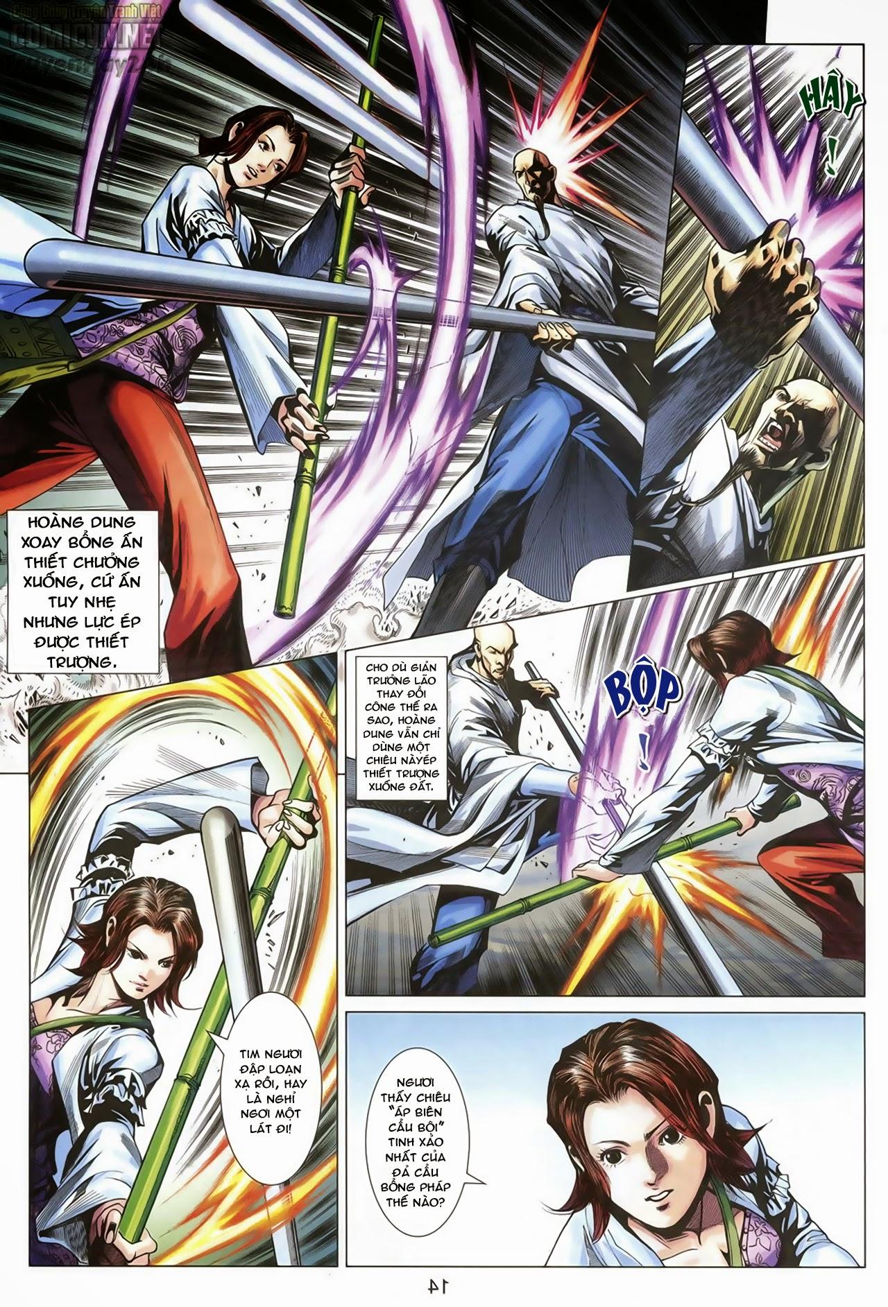 Anh Hùng Xạ Điêu anh hùng xạ đêu chap 68: di thư chân kinh - lừa tình trang 15