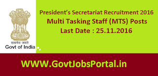 President's Secretariat Recruitment
