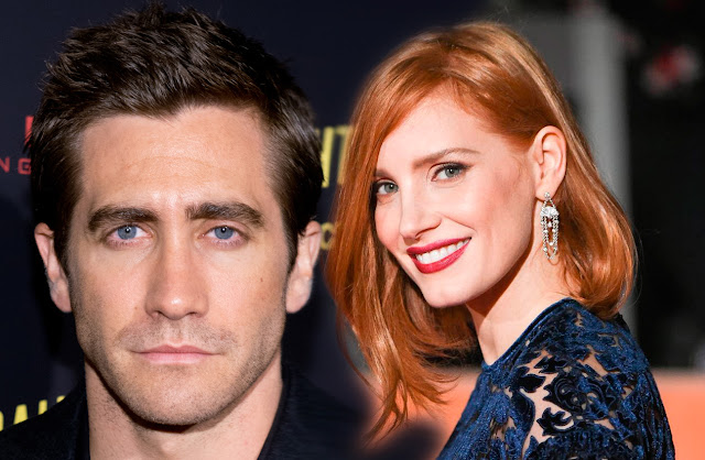 Jessica Chastain y Jake Gyllenhaal The Division