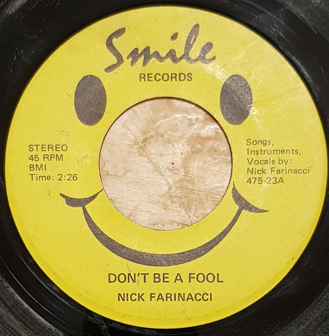 PUREPOP: Nick Farinacci –Don't Be a Fool – Cracking obscure
