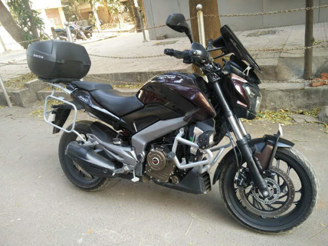 Bajaj Dominar 400 accessories