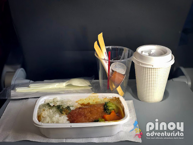JETSTAR IN-FLIGHT MEAL TO SAPPORO JAPAN