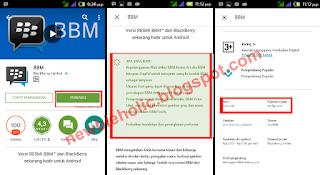 deskripsi update bbm