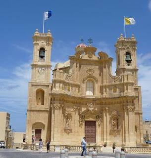 Iglesia de San Lawrenz.