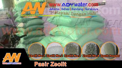 Kegunaan Pasir Zeolit Dalam Peralatan Penjernih Air Adalah