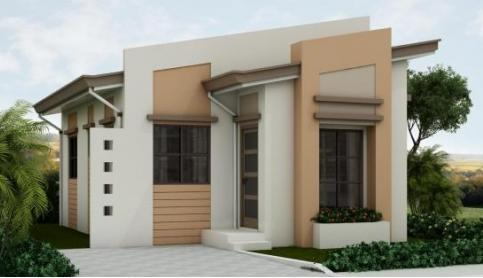 Do you want to loan or own a house for p2 280 monthly from for Classic house design philippines