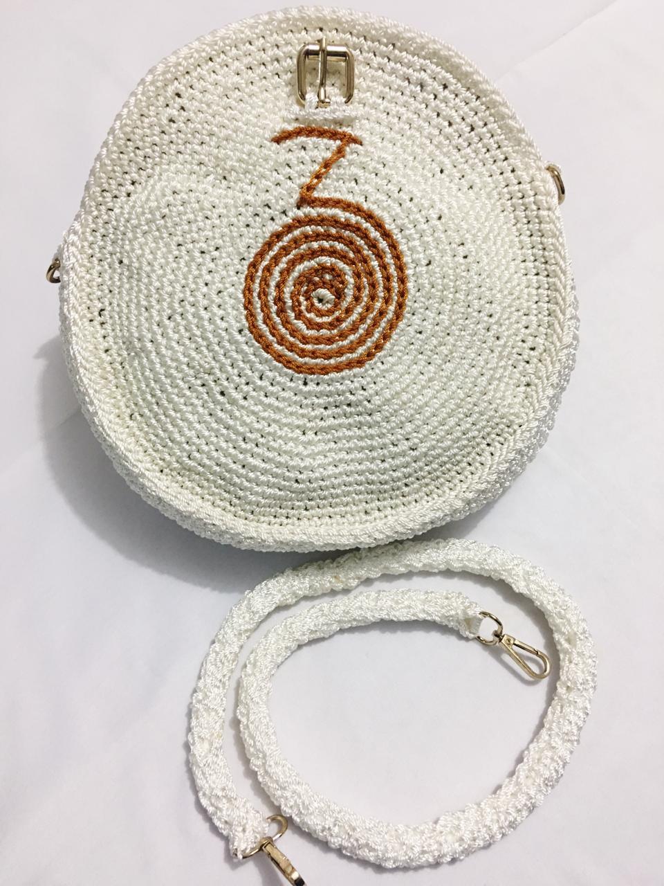 Bolsa Circular en crochet paso a paso