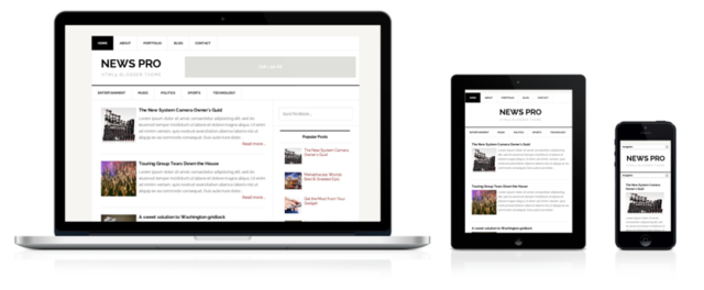 News Pro blogger template