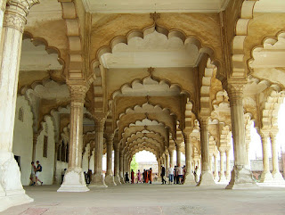Agra Fort (Hall of Public Audience)
