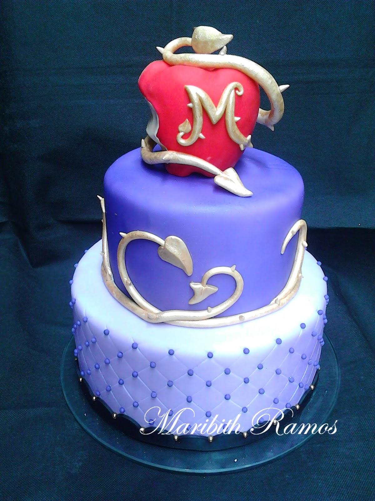 Disney Descendants Birthday Cake Pictures