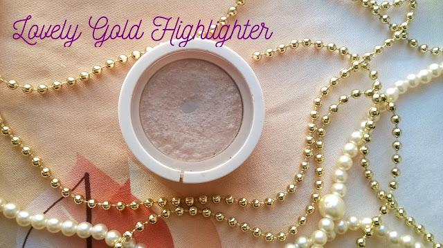 Lovely Gold Highlighter moje złotko