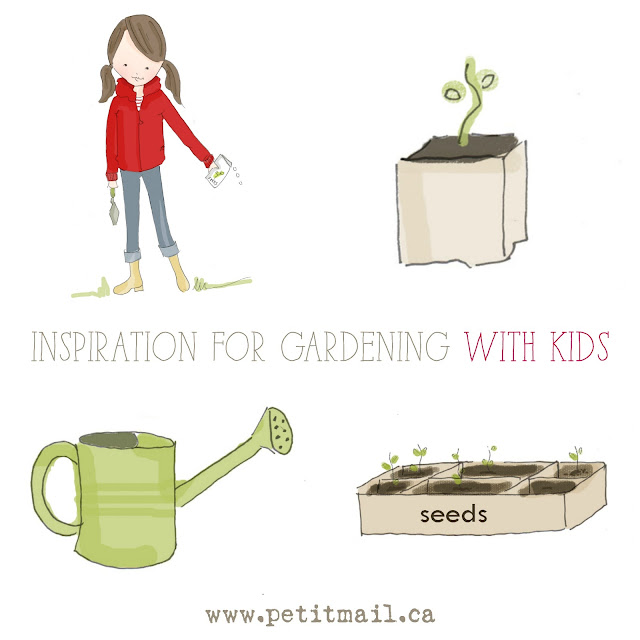 Inspiration to Garden with Kids
