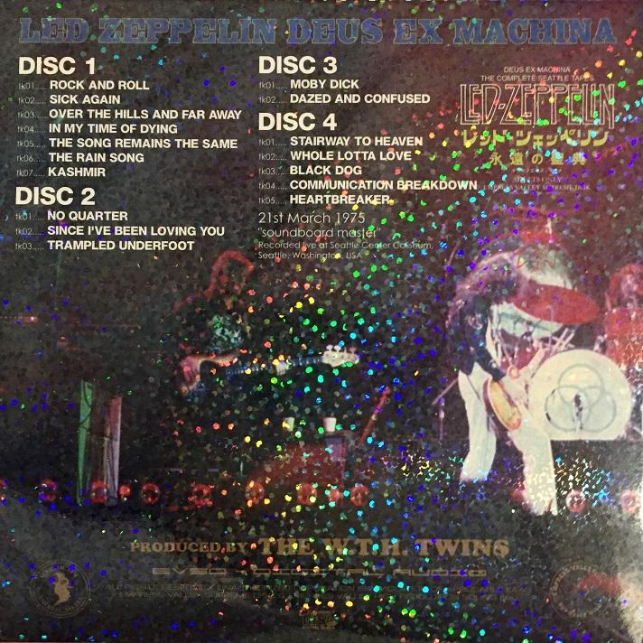RELIQUARY: Led Zeppelin [1975 03 21] Deus Ex Machina