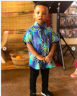 Checkout Adorable Photos Of Paul Okoye's Twin Kids At Their School's Cultural Day