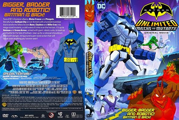 Batman Sem Limites Mechas Vs. Mutantes DVDRip Dual Áudio Batman 2BSem 2BLimites 2BMechas 2BVs