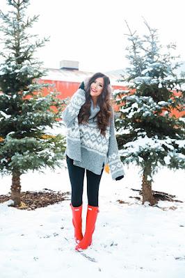outfits con botas de invierno