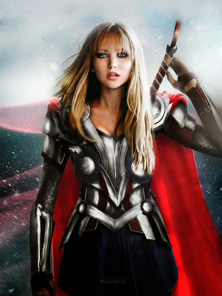 Jennifer Lawrence como Thor