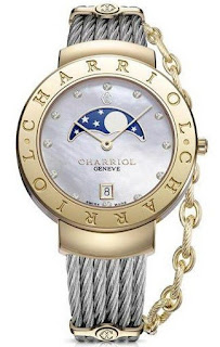 Charriol St Tropez Moonphase Ladies ST35CY.560.009