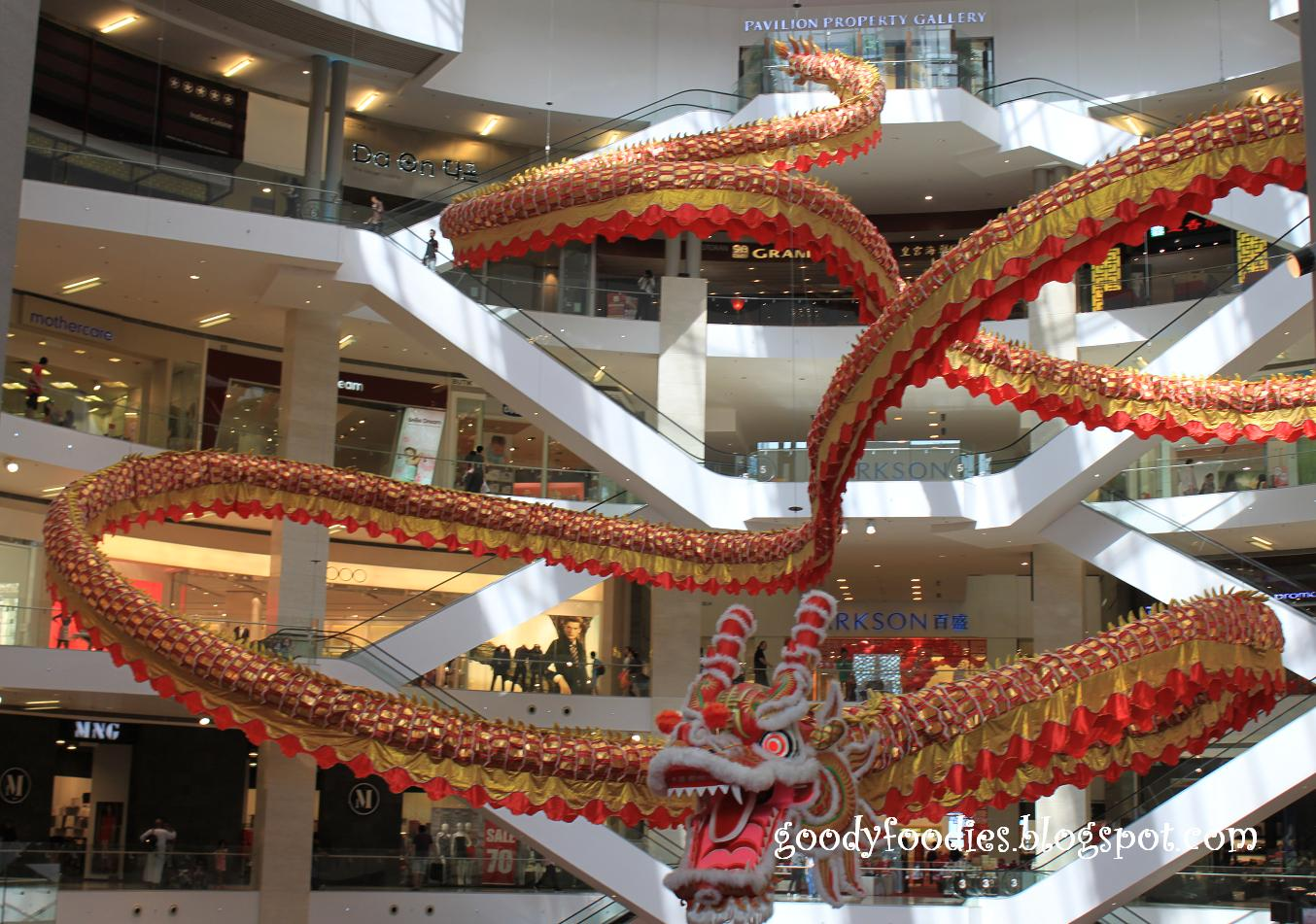 Chinese Dragon Decor Goodyfoodies Majestic Dragon Chinese New Year Decor