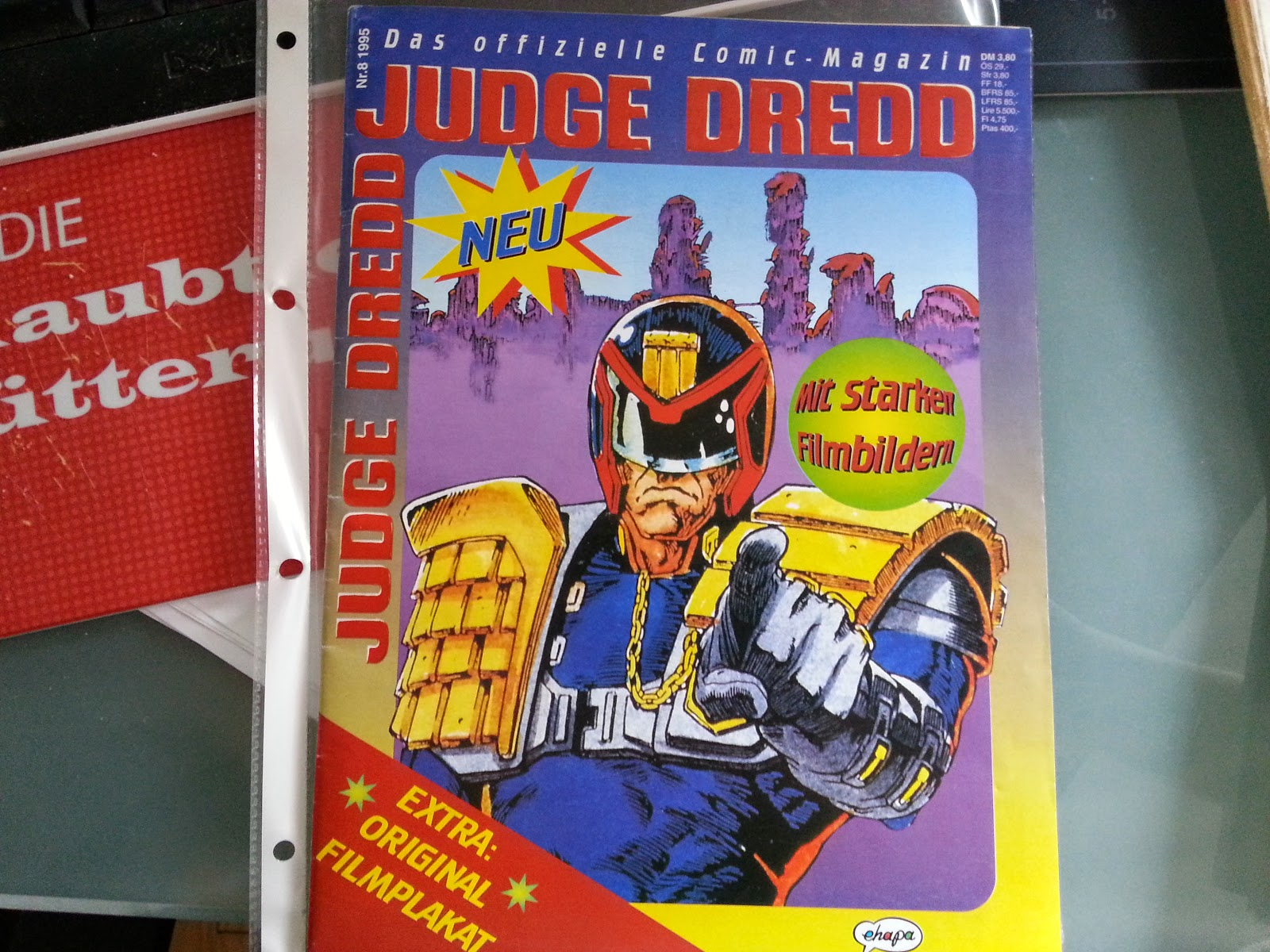 Titel Judge Dredd Comic