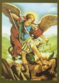 مديح رئيس الملائكة العظيم ميخائيل