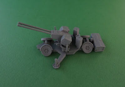 Oerlikon GDF 35mm Twin Cannon Anti-Aircraft Gun picture 1