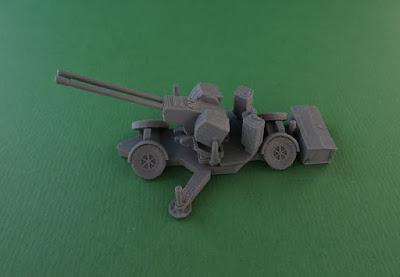 Oerlikon GDF 35mm Twin Cannon Anti-Aircraft Gun picture 1