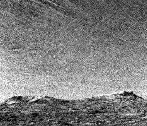 NASA muestra  nubes nevadas en Marte Nubesnasa