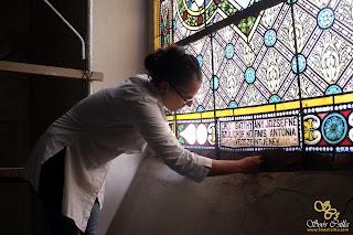 ólomüveg tisztítás
