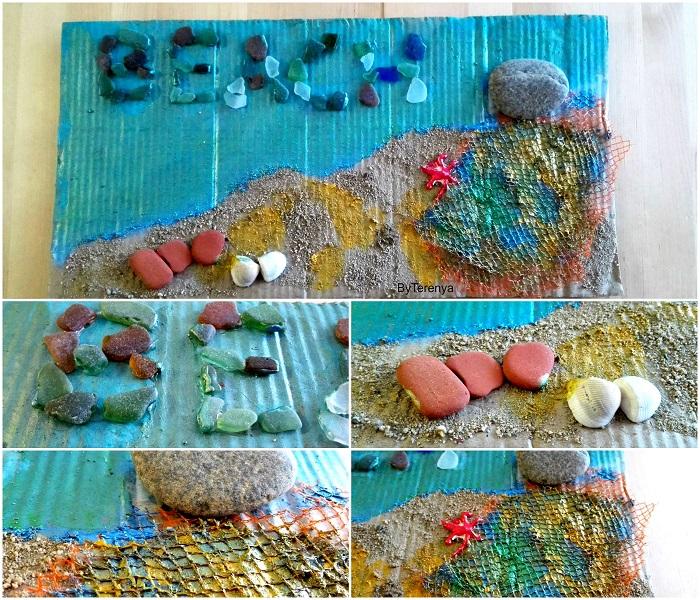 manualidad-collage-verano