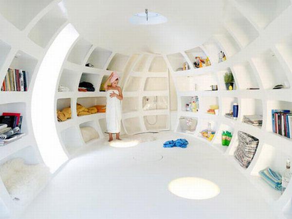 Casa con diseño único