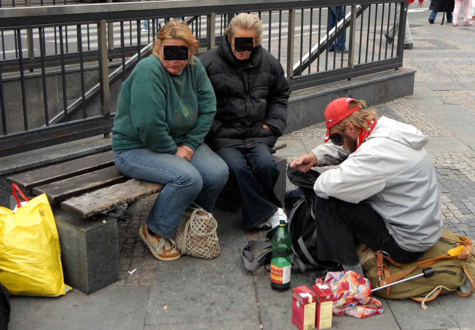 Chodit s bezdomovcem