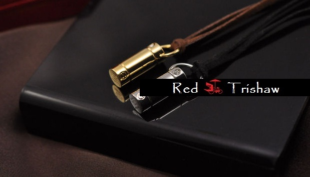 f9abe4be04326 RED TRISHAW: Cartier LOVE Screwdriver Necklace (Pre-Order)