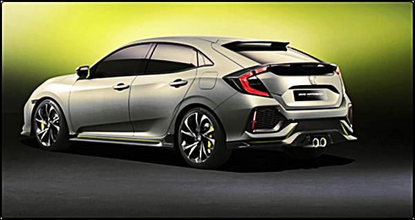 2016 Concept Honda Civic Hatchback Prototype Turbo Kit