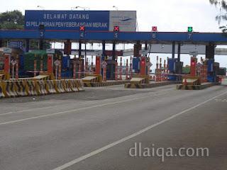 tiba di Pelabuhan Merak, Banten