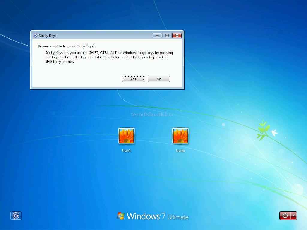 Sticky keys windows 7 cmd | Hack Sticky Keys Feature To