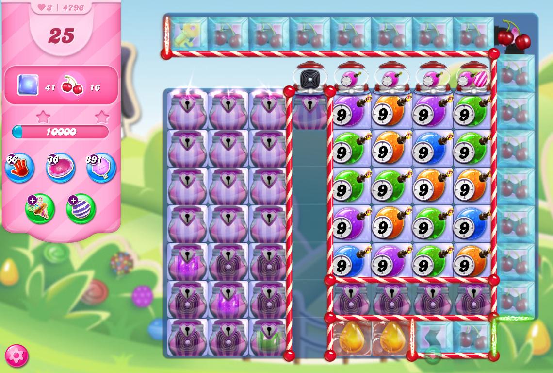 Candy Crush Saga level 4796