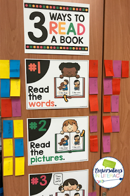3 Ways to Read Books Activities