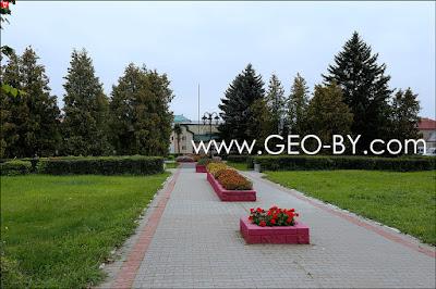 Площадь Свободы в Воложине