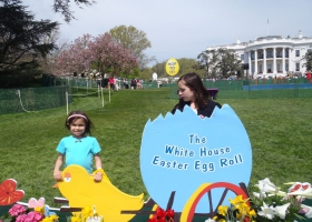 White House Egg Roll on Easter Monday