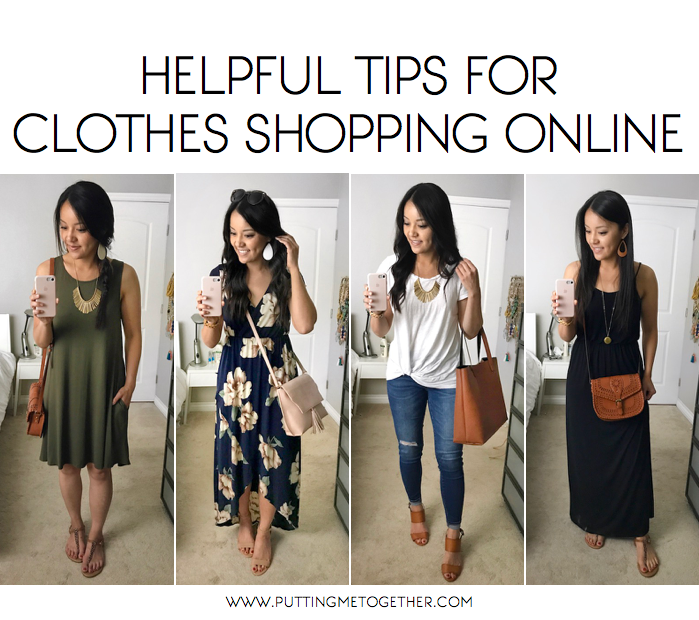 Helpful Tips for Clothes Shopping Online