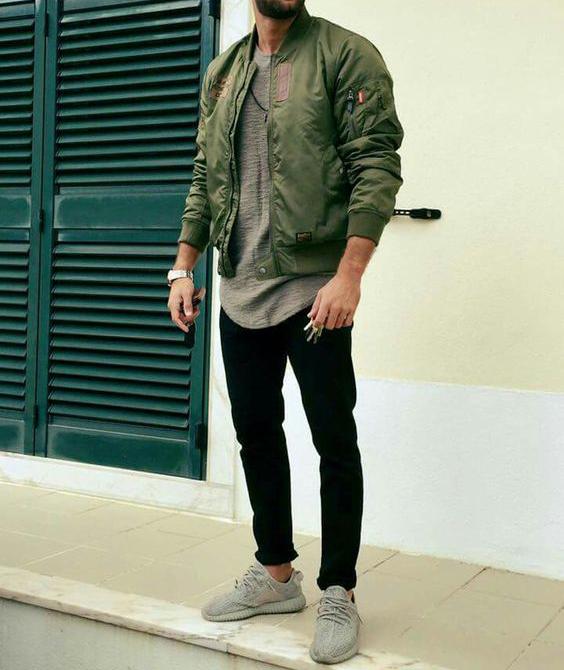 60a05fec47 Macho Moda - Blog de Moda Masculina  Jaqueta Verde Militar Masculina ...