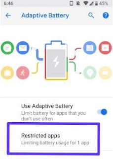 Cara membatasi aplikasi di Android P 9.0, begini caranya