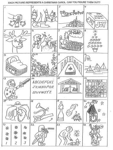 Conroy's Classroom Blog: Christmas Carol Code