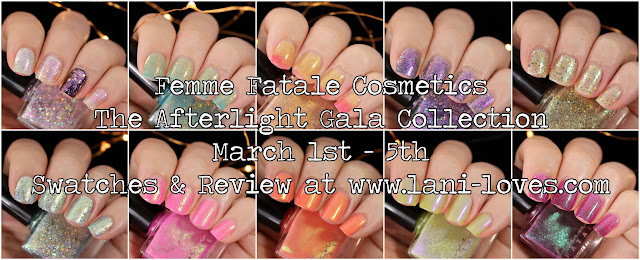 Femme Fatale The Afterlight Gala Collection Swatches & Review